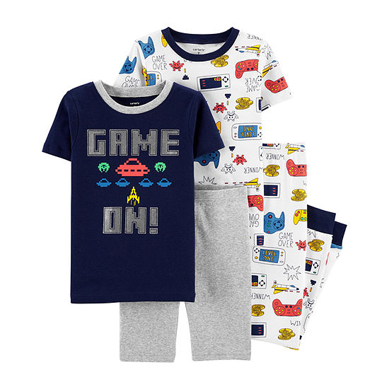 Carter's Boys 4-pc. Pajama Set - Big Kid