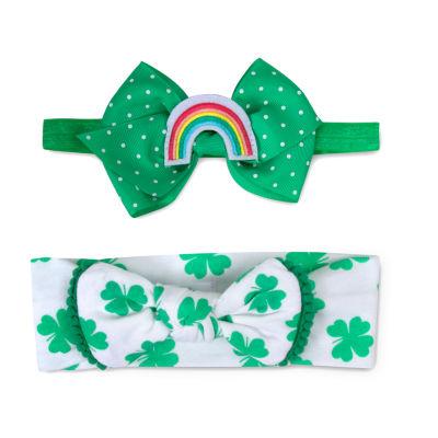 Okie Dokie St Pattys 0-24m 2-pc. Headband