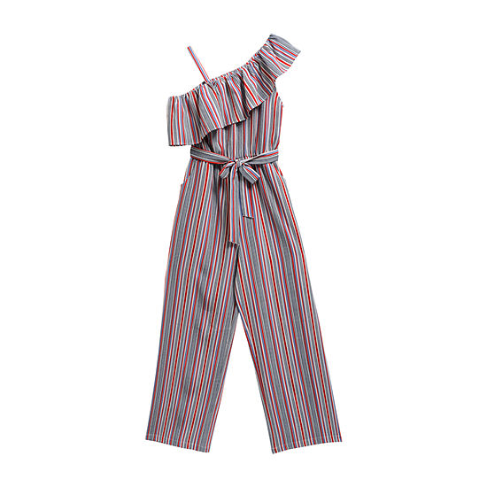 Emily West Americana Little & Big Girls Sleeveless Jumpsuit