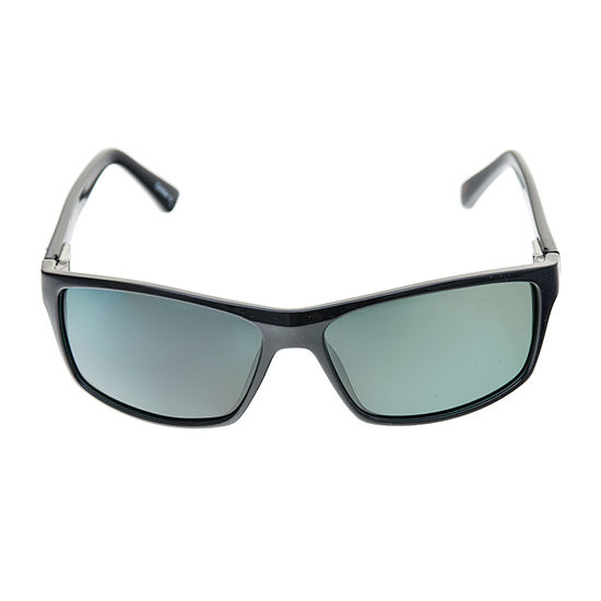 Dockers Mens Polarized Full Frame Wrap Around Sunglasses