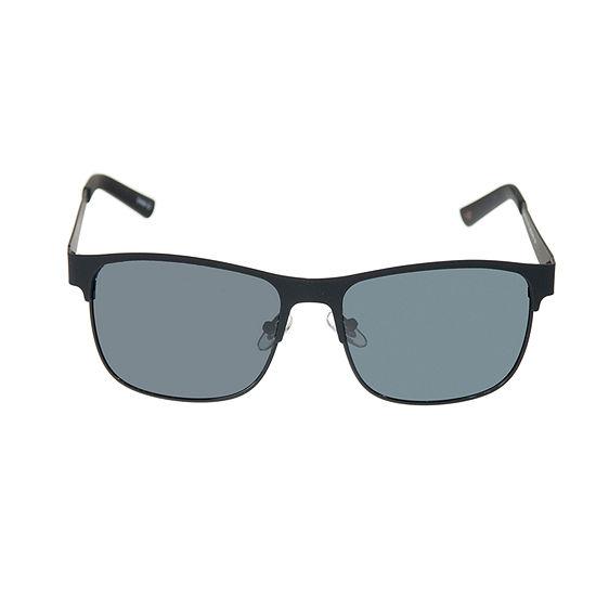 Dockers Mens Polarized Full Frame Square Sunglasses