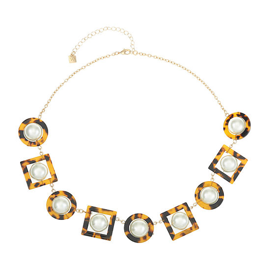 Worthington Resin 20 Inch Cable Collar Necklace