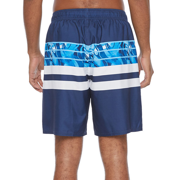 Peyton & Parker Mens Striped Swim Trunks