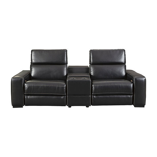 Signature Design by Ashley® Mantonya 3-Piece Power Reclining Sectional