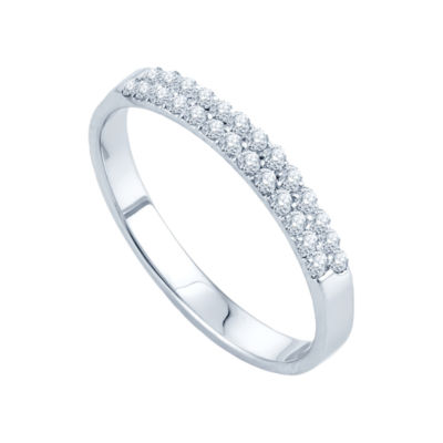 1/4 CT. T.W. Diamond Band
