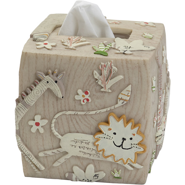 Creative Bath™ Animal Crackers Tissue Holder