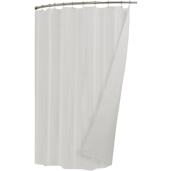 Maytex Ultimate Waterproof Cotton Shower Curtain Liner