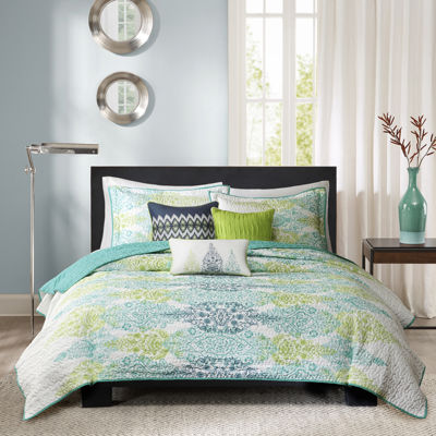 Madison Park Mali 6-pc. Reversible Quilt Set