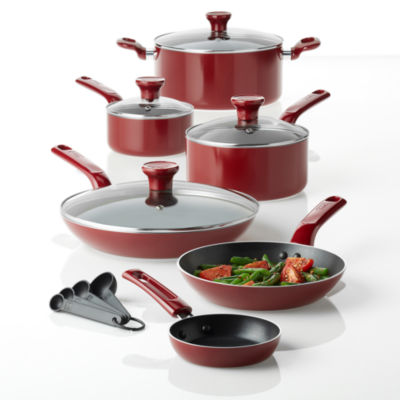 T-Fal® Excite 14-pc. Aluminum Nonstick Cookware Set