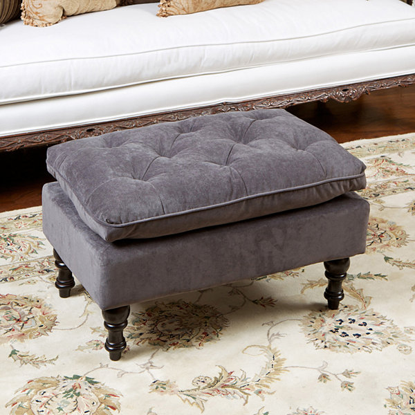 Billy Tufted Ottoman