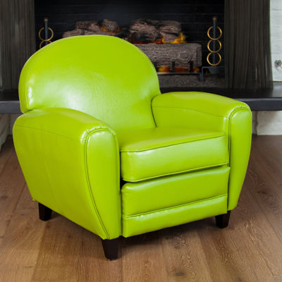 Marcel Bonded Leather Club Chair