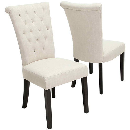 Torrington Set of 2 Tufted Dining Chairs