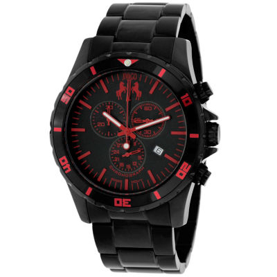 Jivago Mens Black Bracelet Watch-Jv6126