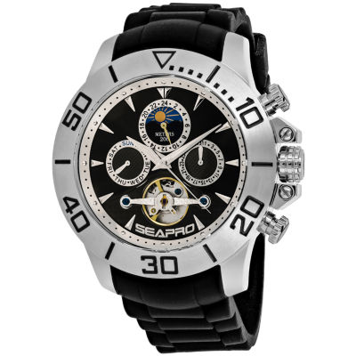 Sea-Pro Montecillo Mens Black Bracelet Watch-Sp5120