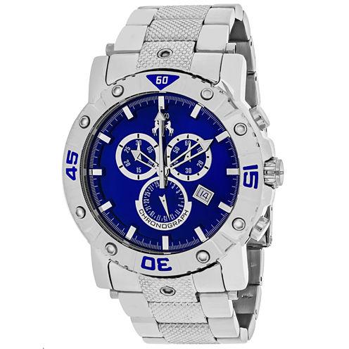 Jivago Mens Silver Tone Bracelet Watch-Jv9125xl