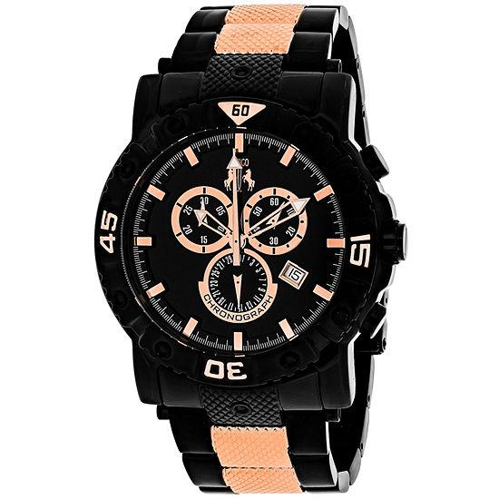 Jivago Mens Two Tone Bracelet Watch Jv9127xl