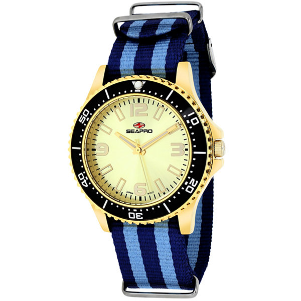 Sea-Pro Tideway Womens Two Tone Strap Watch-Sp5419nbl