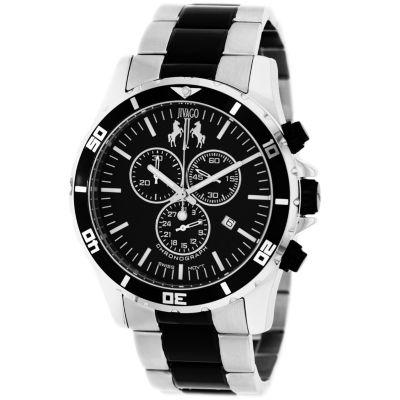 Jivago Mens Two Tone Bracelet Watch-Jv6128