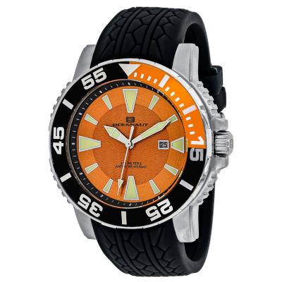 Oceanaut Mens Black Strap Watch-Oc2915