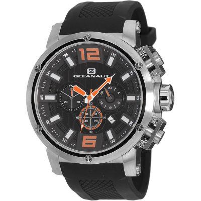 Oceanaut Mens Black Strap Watch-Oc2123