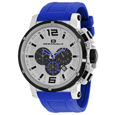 Oceanaut Mens Blue Strap Watch-Oc2144