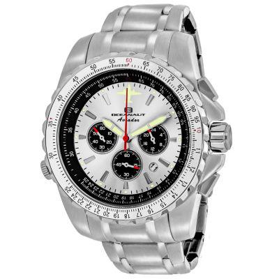 Oceanaut Mens Silver Tone Bracelet Watch-Oc0110