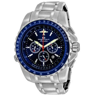 Oceanaut Mens Silver Tone Bracelet Watch-Oc0114