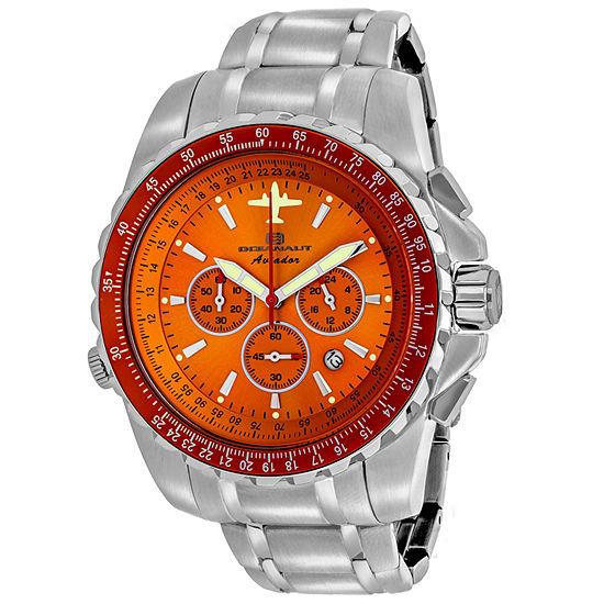 Oceanaut Mens Silver Tone Bracelet Watch Oc0115