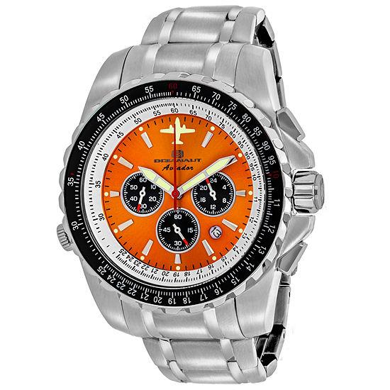 Oceanaut Mens Silver Tone Stainless Steel Bracelet Watch-Oc0116