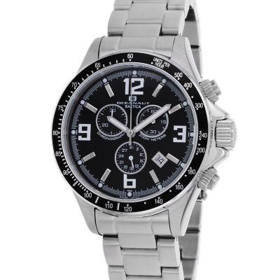Oceanaut Mens Silver Tone Bracelet Watch-Oc3320