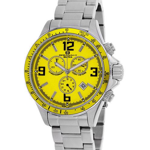 Oceanaut Mens Silver Tone Bracelet Watch-Oc3324