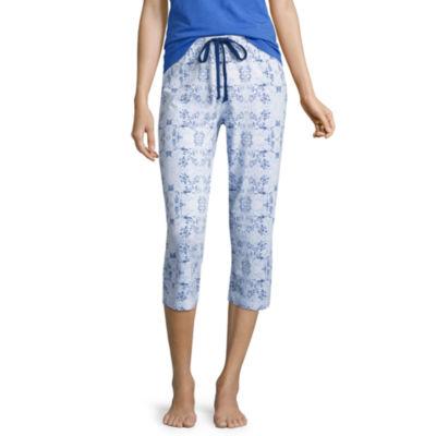 Liz Claiborne Jersey Stripe Pajama Pants