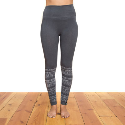 Muk Luks Womens High Waisted Slim Legging