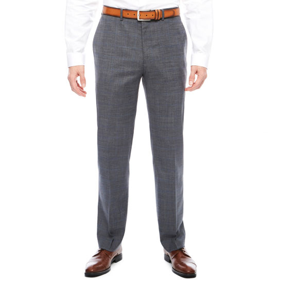 Claiborne Squares Stretch Slim Fit Suit Pants