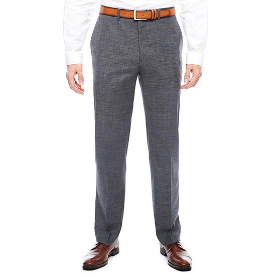 Claiborne Squares Slim Fit Stretch Suit Pants