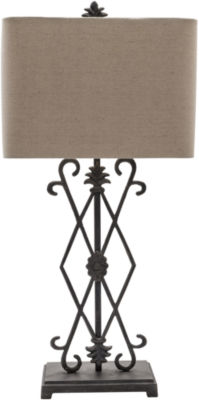 Décor 140 Vanlaere 31x14x10 Indoor Table Lamp - Black