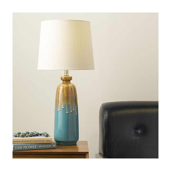 Décor 140 Wilhelm 28x13x13 Indoor Table Lamp - Blue