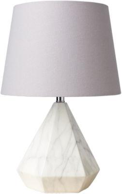 Décor 140 Adsul 11x11x17 Indoor Table Lamp - White
