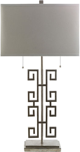 Décor 140 Alessandro 32x16x10 Indoor Table Lamp -Silver