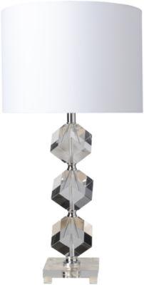 Décor 140 Anoka 14x14x27.75 Indoor Table Lamp - White