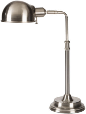 Décor 140 Aspdin  18.5x6x14 Indoor Task Lamp - Silver