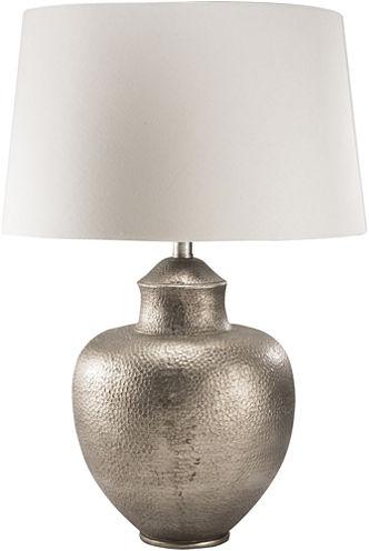 Décor 140 Atana 26.25x18x18 Indoor Table Lamp - Silver