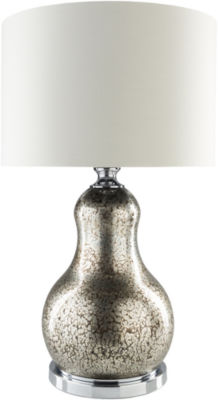Décor 140 Baeyer  28x17x17 Indoor Table Lamp - Silver
