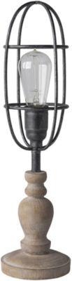 Décor 140 Henslowe 5x5x19 Indoor Table Lamp - Brown