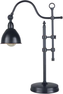 Décor 140 Huntingdon 16.2x16.2x60.5 Indoor Task Lamp - Black