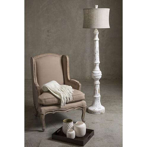Decor 140 Irving 69x17.5x17.5 Indoor Floor Lamp - White