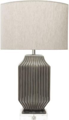 D??cor 140 Jadin 34.5x19x11.75 Indoor Table Lamp -Brown