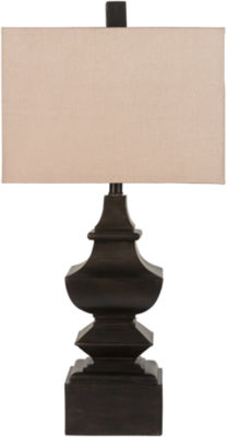 D??cor 140 Jansky?? 30x16x9 Indoor Table Lamp - Brown