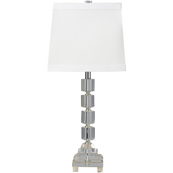 Decor 140 Loretto 11.5x11.5x27 Indoor Table Lamp- Silver