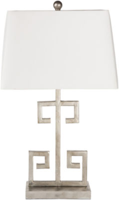 D??cor 140 Merida 25.5x10x15 Indoor Table Lamp - Silver